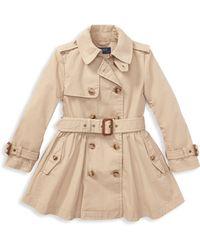 Ralph Lauren - Little Girl's & Girl's Trench Coat - Lyst