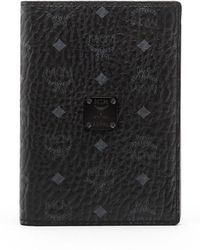 MCM - Nomad Coated Canvas Passport Case - Lyst