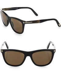 064cc83a9df28 Tom Ford - Men s Andrew 54mm Square Sunglasses - Black Brown - Lyst