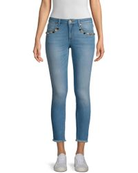 ESCADA - Raw Hem Skinny Jeans - Lyst