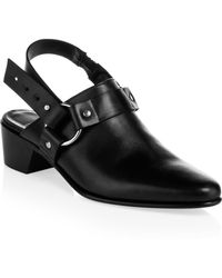 Pierre Hardy - Reno Leather Slingback Mules - Lyst