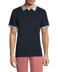 AG Green Label | Short Sleeve Peterson Polo | Lyst