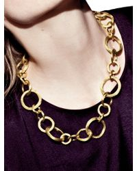 Marco Bicego - Jaipur Link 18k Yellow Gold Necklace - Lyst