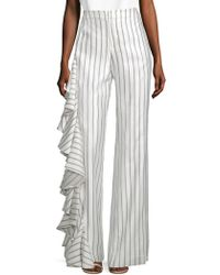Alexis - Striped Mahalia Pants - Lyst
