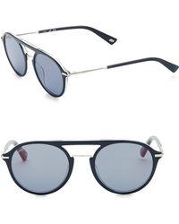 Web - 52mm Aviator Sunglasses - Lyst