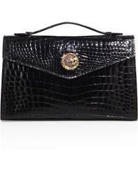 Ethan K - K22 Crocodile Top-handle Bag - Lyst