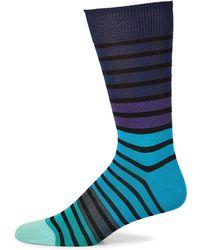 Paul Smith - Fialor Stripe Knitted Socks - Lyst