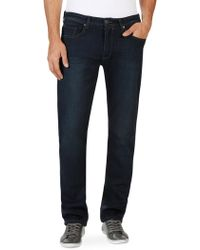 PAIGE - Slim-fit Federal Extra Long Jeans - Lyst