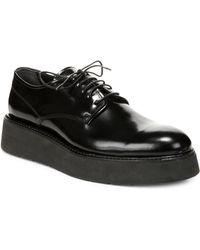Vince - Drystan Leather Platform Shoes - Lyst