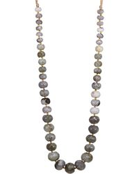 Chan Luu - Labradorite Adjustable Necklace - Lyst