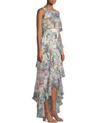 Parker Black - Kimberly Ruffle High-low Dress - Lyst