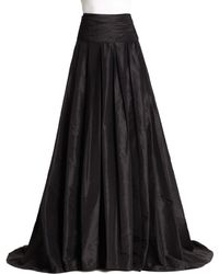 Carolina Herrera - Icon Collection Silk Cummerbund Ball Gown Skirt - Lyst