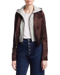 A.L.C. - Edison Zip-front Jacket - Lyst