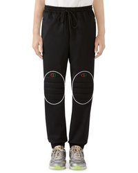 Gucci - Loose Technical Jersey Jogging Pants - Lyst