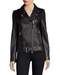 Mackage - Chiara Leather Jacket - Lyst