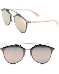 e008f95850b06 Dior Ama 55mm Rounded Clubmaster Sunglasses in Blue - Lyst