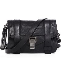Proenza Schouler   Ps1 Mini Leather Crossbody Bag   Lyst