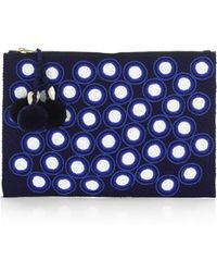 Figue - Soma Hand-beaded Polka-dot Pouch - Lyst