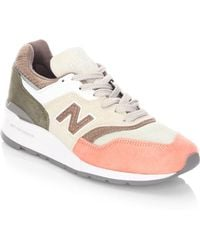 New Balance - 997 Desert Heat Suede Sneakers - Lyst