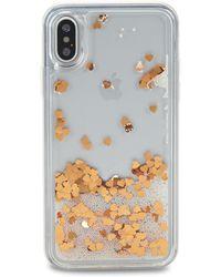 Rebecca Minkoff - Glitterfall Confetti Iphone X Case - Lyst