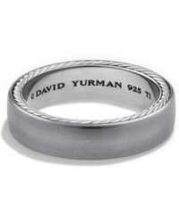 David Yurman - Streamline Narrow Band Ring - Lyst