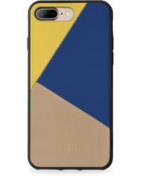 Boostcase | Clic Navy Leather Iphone 7 Plus Case | Lyst