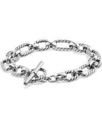 David Yurman - Cushion Chain Link Bracelet - Lyst