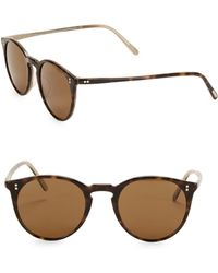 Spring 48mm Resort Cateye Oliver Sun O'malley Lyst Sunglasses Peoples qx4wfSa7fg