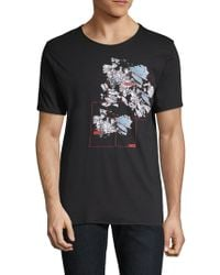 HUGO - Dollar Ice Graphic T-shirt - Lyst