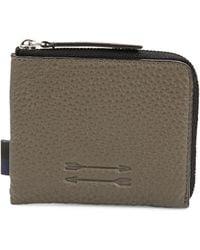 Uri Minkoff - Zippered Leather Card Holder - Lyst
