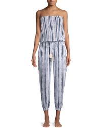 Cool Change - Brooke Striped Jumpsuit - Lyst