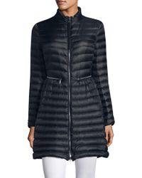 Moncler - Agatelon Long Puffer Jacket - Lyst