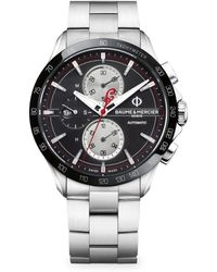 Baume & Mercier - Clifton Club 10403 Indian Legend Tribute Watch - Chief Limited Edition - Lyst