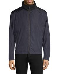 HUGO - Water Repellant Nylon Jacket - Lyst
