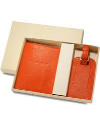 Graphic Image - World Traveller Passport Case & Luggage Tag Set - Lyst
