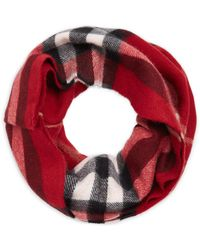 Burberry - Exploded Parade Cashmere Infinity Scarf - Lyst