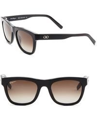 Ferragamo - 56mm Wayfarer Sunglasses - Lyst