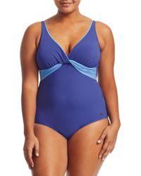 Marina Rinaldi - Saggina One-piece Swimsuit - Lyst