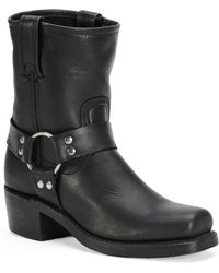 Frye - Harness Leather Mid-calf Boots - Lyst