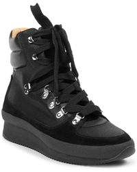 Isabel Marant - Brendty Leather Mountain Hiking Boots - Lyst