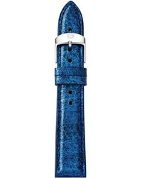 Michele Watches - Saffiano Leather Watch Strap/18mm - Lyst