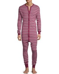 2xist - Long John Onesie Union Suit - Lyst