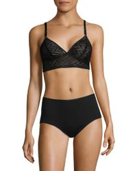 Fortnight - Longline Wireless Bra - Lyst