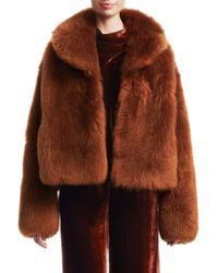A.L.C. - Dean Fur Jacket - Lyst