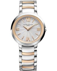 Baume & Mercier - Promesse 10159 Two-tone Bracelet Watch - Lyst