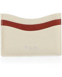 Loro Piana - Odessa Leather Credit Card Holder - Lyst