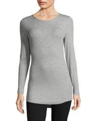 Hanro - Mia Long Sleeve Shirt - Lyst