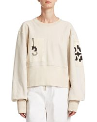 Tre by Natalie Ratabesi - The Editor Puff-sleeve Sweater - Lyst