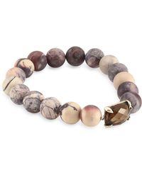 Chan Luu - Matter Porcelain Jasper Stretch Bracelet - Lyst