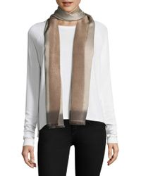 Bajra - Frame Silk & Cashmere Scarf - Lyst